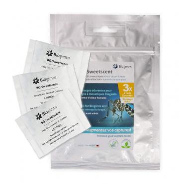 Recharge attractif pour moustiques BG-Sweetscent lot de 3